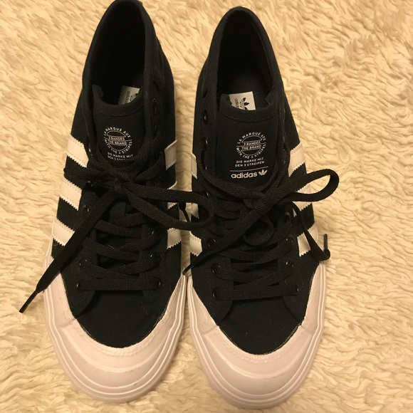 adidas Shoes   Canvas Mid Rise 3 Stripe